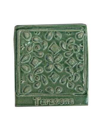 Imán verde cerámica