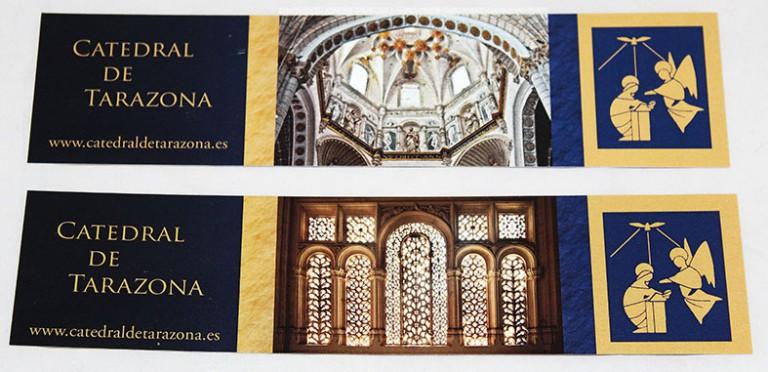 Marcapáginas de la Catedral de Tarazona
