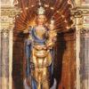 Postal pequeña Virgen de la Huerta